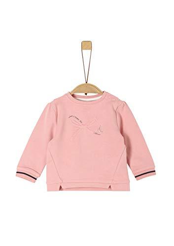 s.Oliver Baby-Mädchen 59.911.41.2355 Sweatshirt, Rosa (Rose 4257), (Herstellergröße: 68)