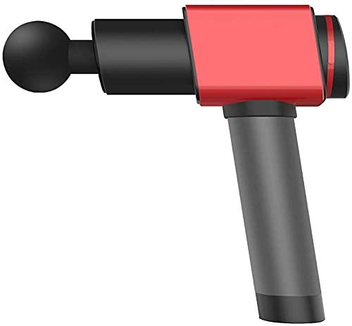 xzl Masajeador de cuerpo completo, mini pistola de masaje profunda de percusión de tejido muscular, puede aliviar el dolor muscular, un