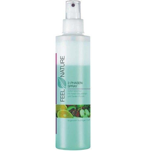 Feel Nature 2-Phasen-Spray 200 ml Sofort-Pflegespray speziell für beanspruchtes & strapaziertes Haar