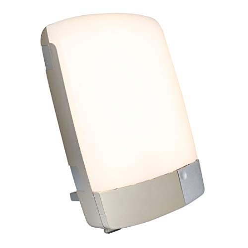 Carex Health Brands Sunlite Bright Light Therapy Lamp, Silver