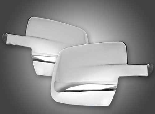 MaxMate Fits 09-13 Dodge Ram 1500/10-13 Ram 2500/3500 Mirror Cover W/O Turn Signal Place Cutout (Not for Towing Mirror)