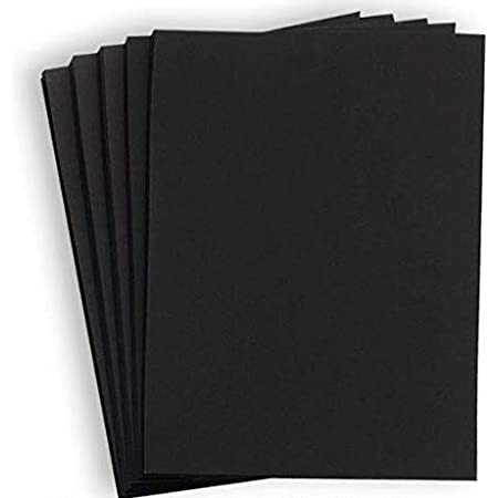 Artway Enviro Recycled Black Card 11.7 x 16.5-100 Sheets 270gsm//100lb
