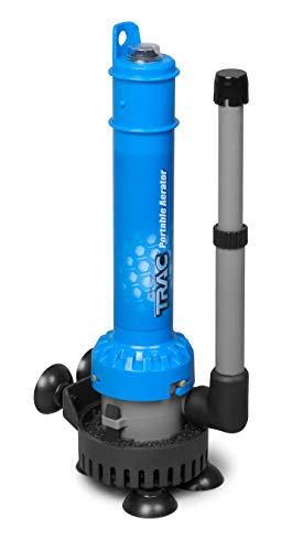 Price comparison product image Trac Outdoors Portable Aerator - Powerful Spray Aerates Water to Keep Bait Alive (69340)