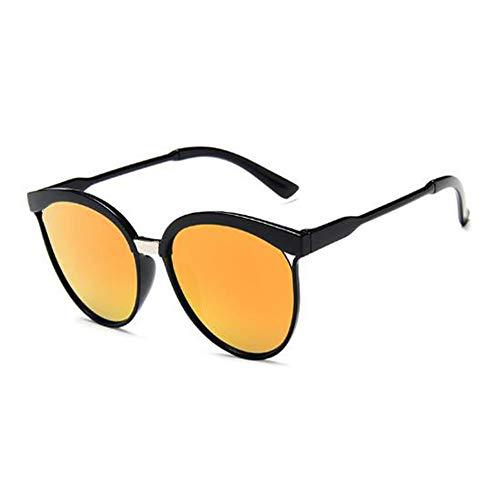 GJDBBLY Occhiali da sole Cat Eye Occhiali da sole Donna Occhiali da sole in plastica vintage Occhiali da sole classici 143mm rosso