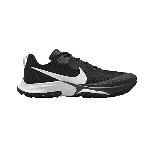 Nike Air Zoom Terra Kiger 7, Zapatillas para Correr Hombre, Black Pure Platinum Anthracite, 45.5 EU
