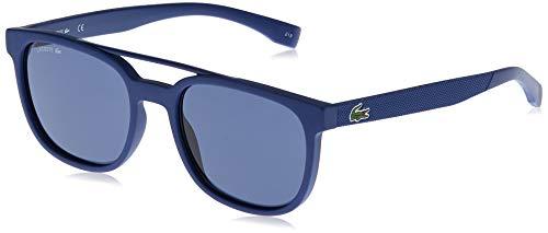 Lacoste L883S, Injected Gafas de Sol Matte Navy Blue Unisex Adulto, Multicolor, Standard