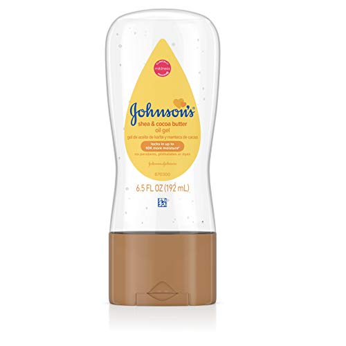 Johnson's Baby Oil Gel - Shea & Cocoa Butter - 6.5 oz