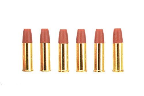 KWC Air Soft Airsoft Gameplay BB Airsoft Magazine Colt Python.357 Magnum AEG Shells Six Pack Airsoft Use