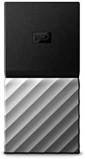 WD ポータブルSSD 2TB USB3.1 Gen2 My Passport SSD 暗号化 パスワード保護 外付けSSD /3年保証 WDBKVX0020PSL-WESN