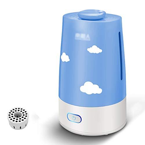 XiaoXiao Humidificador - Mini máquina de aromaterapiaHabitaciones domésticas de Silencio Alta Capacidad Aire Acondicionado Purificación de Aire/Pequeño humidificadores (Color : B)