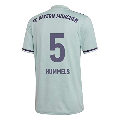 adidas FCB FC Bayern München Trikot Away Auswärtstrikot 2018 2019 Herren Hummels 5 Gr M