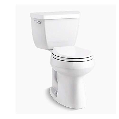Kohler K-5296-0 Highline Classic Comfort Height Toilet, White