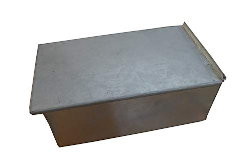 4 LB Loaf Baking Tin Heavy Duty Farmhouse by EUROTINS (27 x 15.5 x 11 cm)