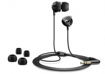 Sennheiser CX 175schwarz im Ohr Headset im Ohr–Kopfhörer (im Ohr, im Ohr, verkabelt, 17–23000Hz, 1,2m, schwarz)