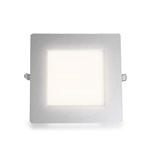 Ultraslim LED panneau rectangulaire encastré blanc neutre 1501LM 21W (S) Ø 203 mm