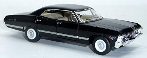 generisch 1967 Chevrolet Impala schwarz Sammlermodell ca. 12,5cm / 1:43 Neuware von KINSMART