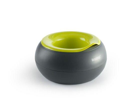Hoppop 32130050 - Donut Töpfchen, Grey Lime