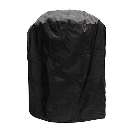 Runde Grillabdeckung, 70 x 96 cm, Polyester, wasserdicht, Staubschutz, für drinnen und draußen, Holzkohle-Kugelgrill, Schutzhülle für rechteckigen Gas- oder Elektrogrill