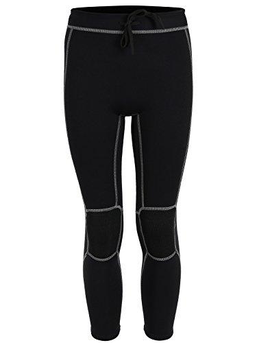 Pantalon de surf thermique 2 pieds nus pour junior doublé polaire 3 mm – Couche de base de surf, s