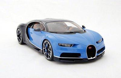 Bugatti Chiron hand-built 1/8 scale [ブガッティ・シロン ミニカー]