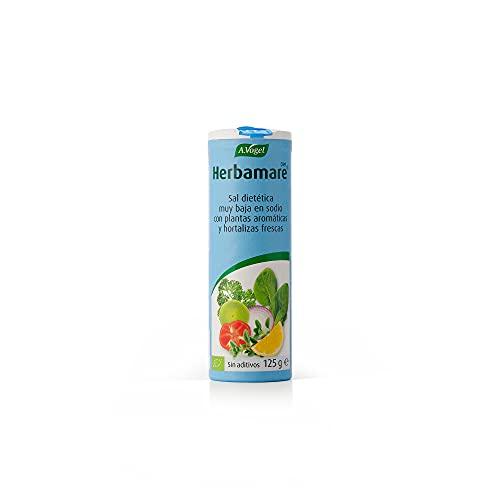 Herbamare® DIET   Sal dietética muy baja en sodio con plantas aromáticas y hortalizas frescas BIO   125 gr   A.Vogel