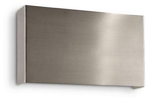 Philips Ecomoods Applique Éclairage de Mur 2 x 9 W 230 V Acier Brossé