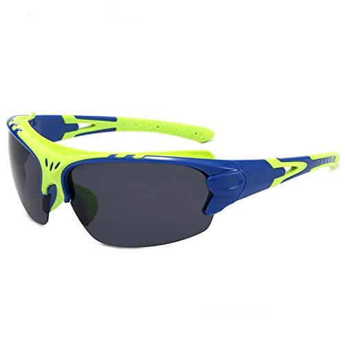 Gafas Deportivas para Hombres, Gafas De Sol Polarizadas, Gafas De Sol Al Aire Libre, Bicicleta A Prueba De Viento,E