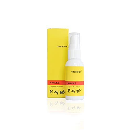 AWAKE. 37 Tage Mund-Spray für mehr Energie & Ausdauer + weniger Müdigkeit I Patentiertes Q10 Vital + Robuvit & Vitamin B6 (P-5-P) + B12 (Methylcobalamin) I Vegan I Kein Koffein