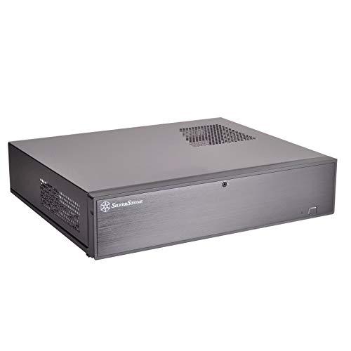 SilverStone Technology Tek Aluminum Front Door/Steel Body Micro ATX Media Center/HTPC Case ML04B-USA