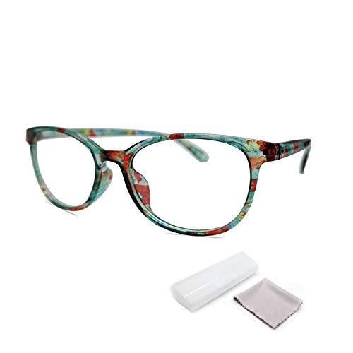 Reading Glasses,Lightweight Eyeglasses, Blue Light Blocking Glasses,Computer Eyeglasses Readers for Men Women (Light color, 2)
