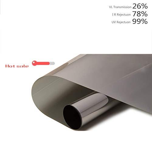 ZXL Venster Films Glazen folie Wegwerp Perspectief Zonnebrandfolie Huishoudelijke Sticker Verduisterende Venster Sticker Balkon Raam Zelfklevend Raampapier (Maat: 80x100cm)