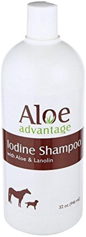 Aloe Advantage Iodine Shampoo by Durvet