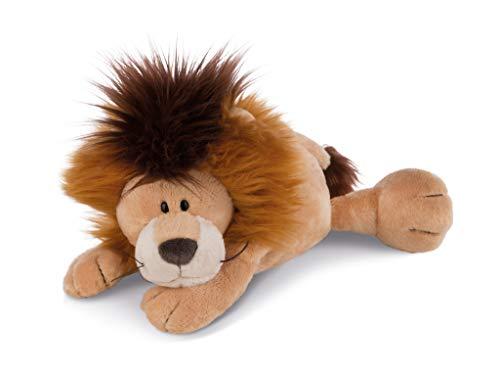 NICI 42930 Kuscheltier Löwe Kitan liegend, 30 cm, braun