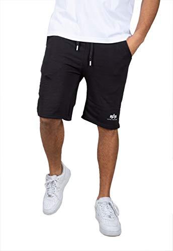 Alpha Industries Basic SL Shorts Schwarz L