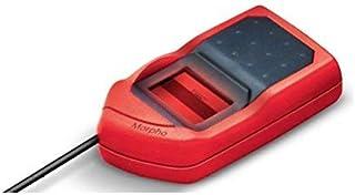 Safran Morpho USB 1300E3 Fingerprint Biometrics MSO OTG(All-in-one version) for Aadhaar eKYC and Sim Activation, 2.5x13(Re...