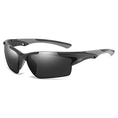 AEF Gafas De Sol Polarizadas Hombre Mujer, TR90, Gafas Sol Mujer, Gafas Sol Hombre Protección 100% UV400, Gafas para Ciclismo, Running, Deporte,1