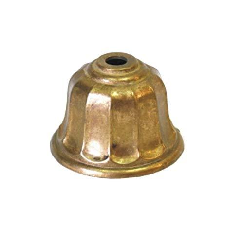 Tapa pie acabado en bronce 65mm diámetro para lámparas - Accesorios para lámparas