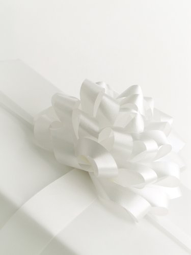 Brand New SOLID GLOSS WHITE Gift Wrapping Paper - 16 Foot Roll