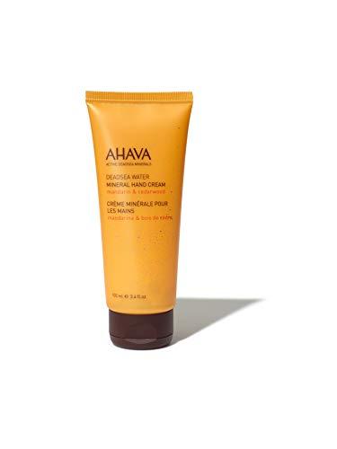 AHAVA Crema Mineral Para Manos Mandarina Y Cedro - 100 ml.