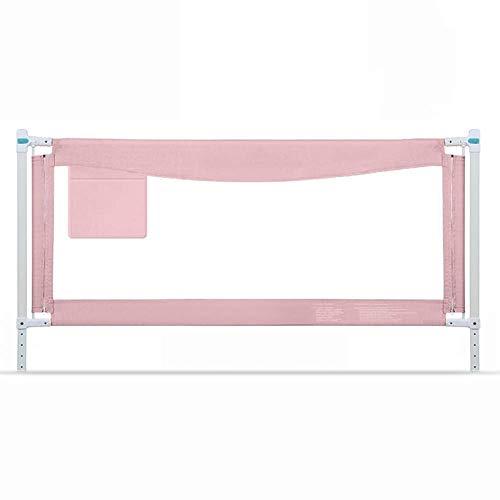 PNFP bedrooster, extra hoog, voor babybed, draagbaar en stabiel, 150-200 cm, roze