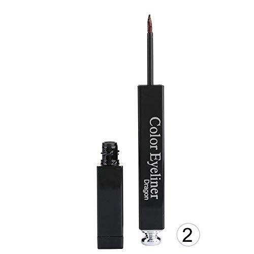 Wasserdichter langlebiger flüssiger Eyeliner-Eyeliner-Stift-Augen-kosmetisches Make-upwerkzeug(# 2 Kaffee)