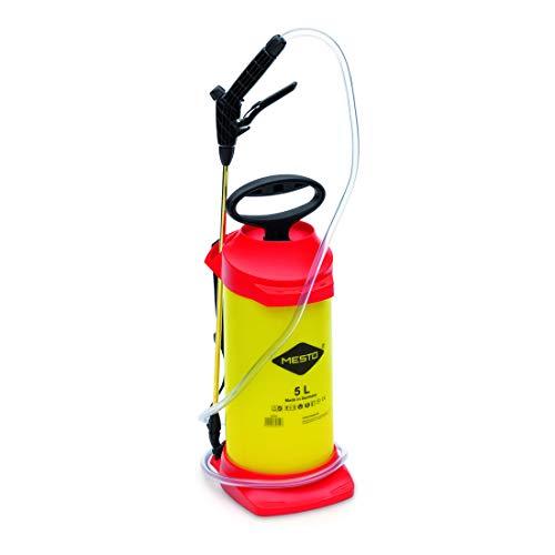 Mesto 3237FP Drucksprühgerät (Inhalt 5 Liter, für Reinigungs-/Desinfektionsmittel, Dichtungen FPM, Spritzrohr 50 cm)