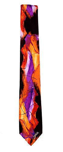 JG-8172 - Jerry Garcia Mens Fashion Designer Brand Necktie Ties