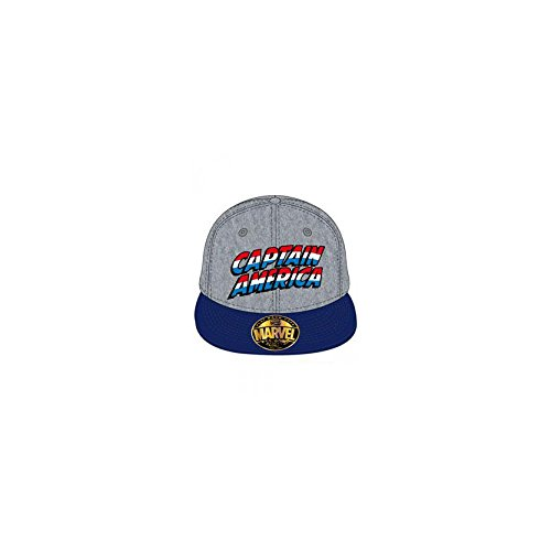 Marvel Casquette Captain Logo
