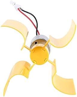 Energía eólica: kit de bricolaje Motor pequeño Turbinas de viento verticales Láminas Brisa Generador de electricidad