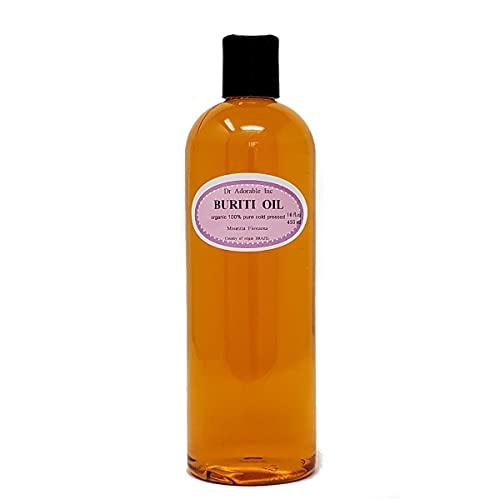 Buriti/fruta puro aceite exótico frío presionado paja orgánica 16 oz/1 pinta