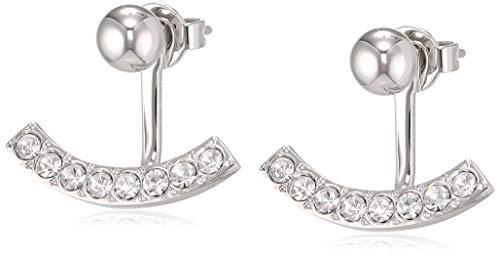 Tommy Hilfiger Fine Core Damen Ohrringe Edelstahl Silber 1,3 cm
