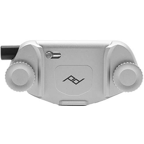 Peak Design Capture Clip v3 Silver Kameraclip  für DSLR-/DSLM-Kameras - Kameraplatte separat erhältlich