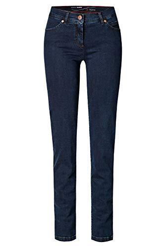 TONI Damen 5-Pocket-Jeans »Perfect Shape« mit figurformendem Effekt 42 darkblue