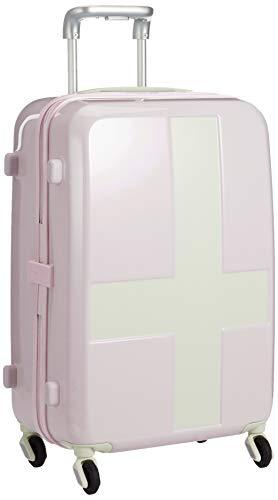 [イノベーター] スーツケース グッドサイズ ベーシックモデル INV55T 保証付 50L 55 cm 3kg ピンク/アイボリー